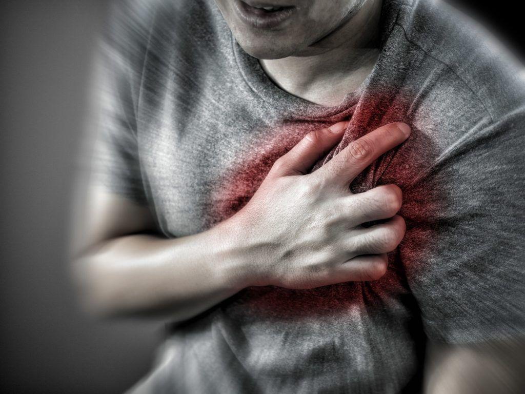 Боль в груди при аритмии