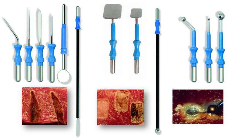 Инструменты для диатермокоагуляции