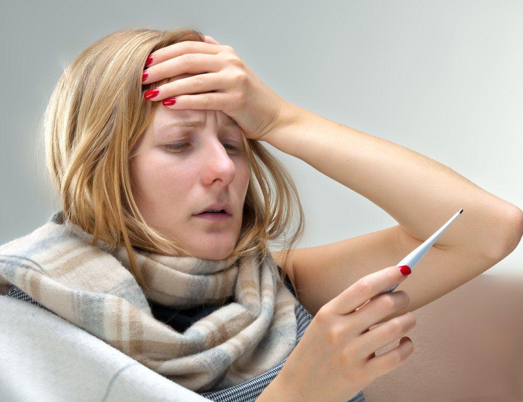 Высокая температура при простудном заболевании
