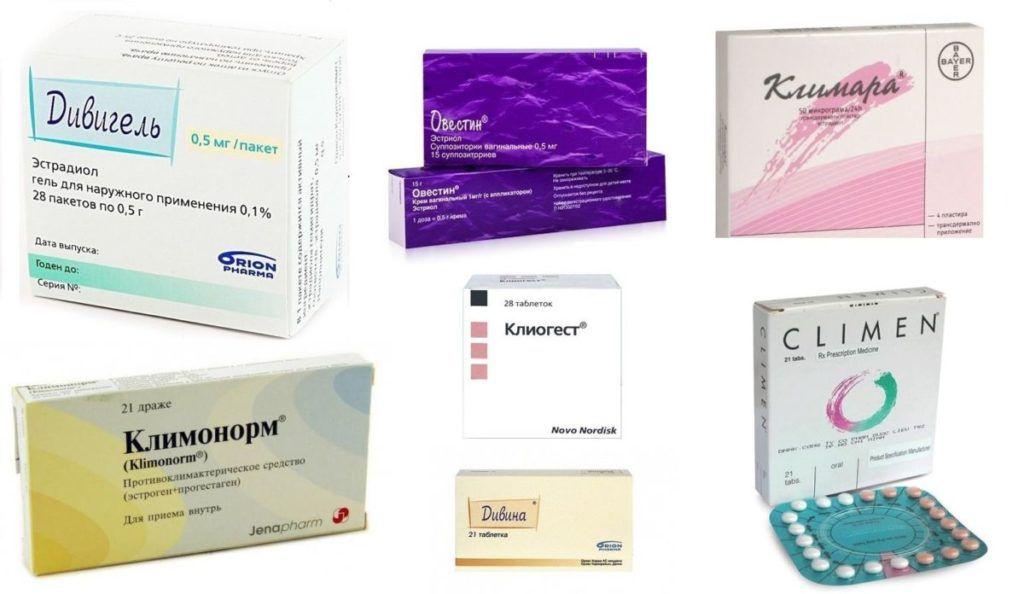 Препараты, применяемые при климаксе