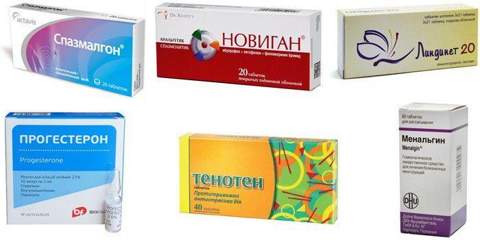 Препараты для лечения дисменореи