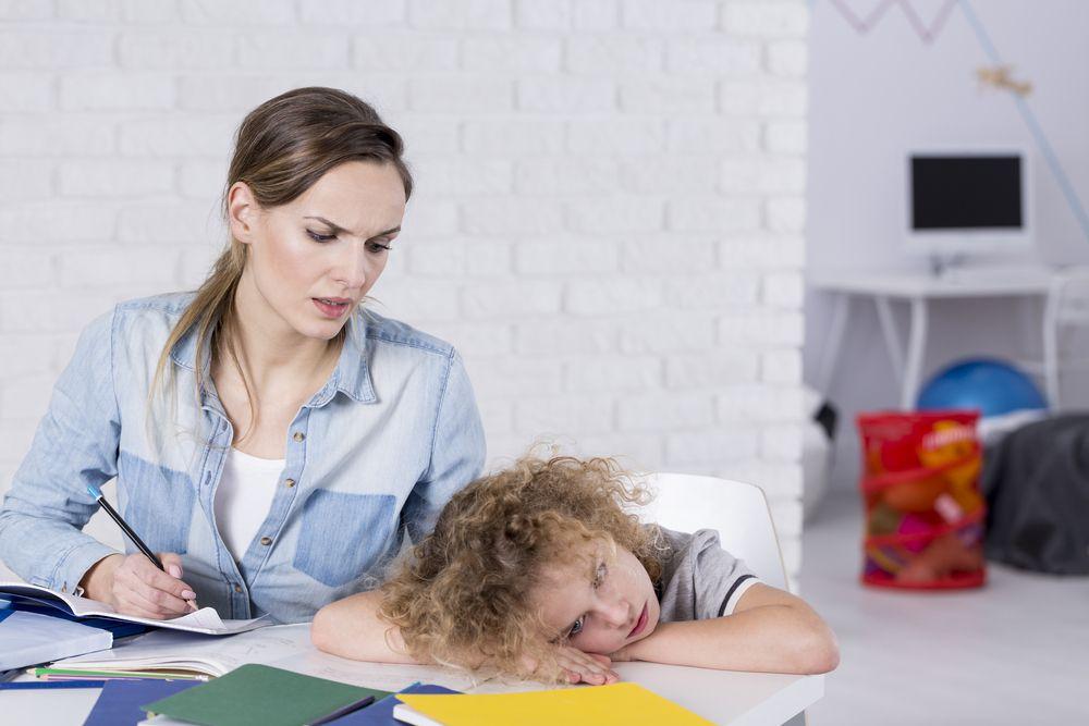 Ребенок не хочет выполнять домашнее задание