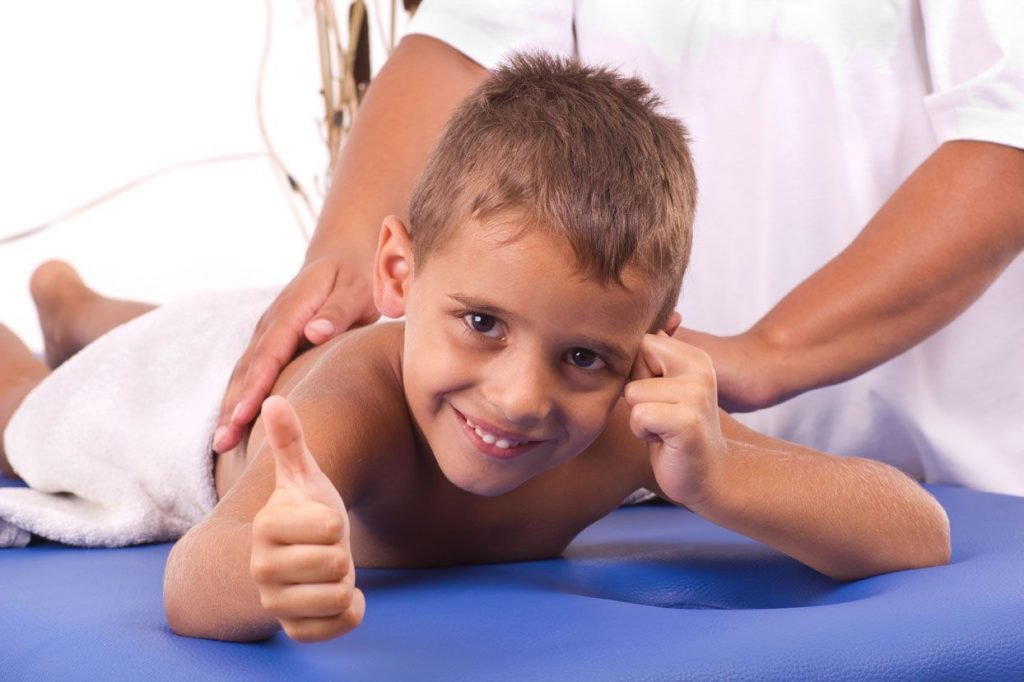 Мануальная терапия для детей