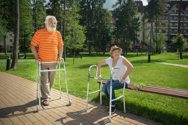 Пациенты с ходунками