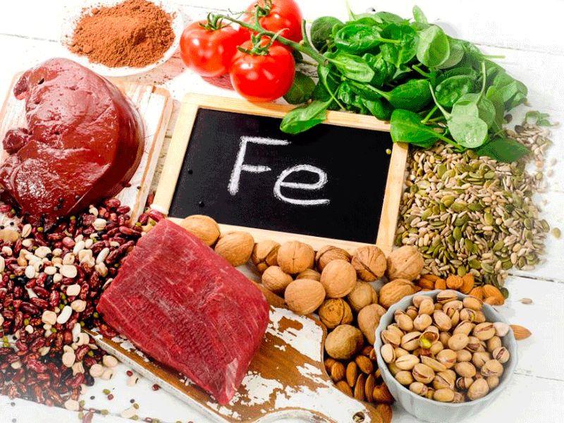 Источники железа и ферритина